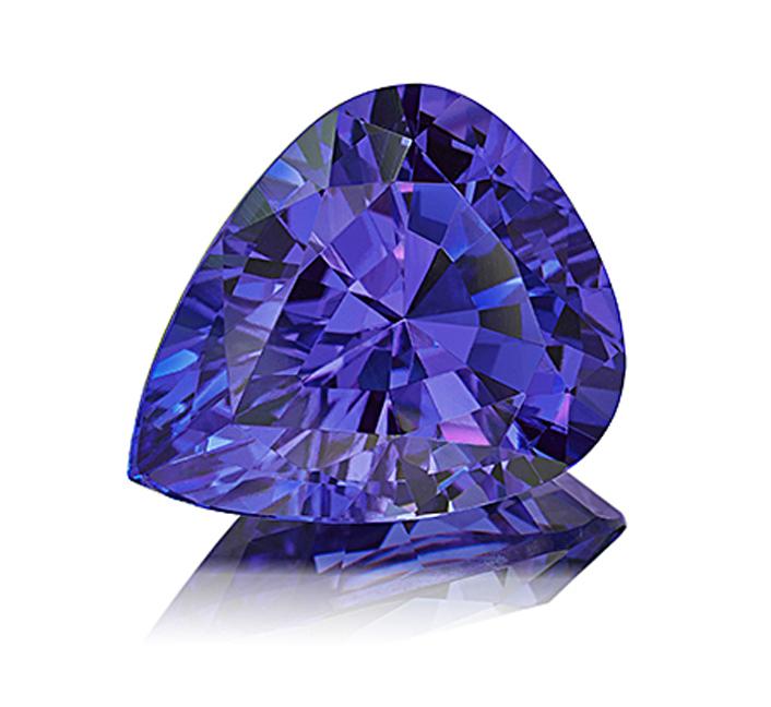 Jewelry Trends 2014: 14.56 carat drop-shaped tanzanite by Paul Wild – © Paul Wild