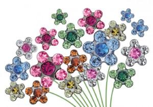 Серьги-цветочки от Studex