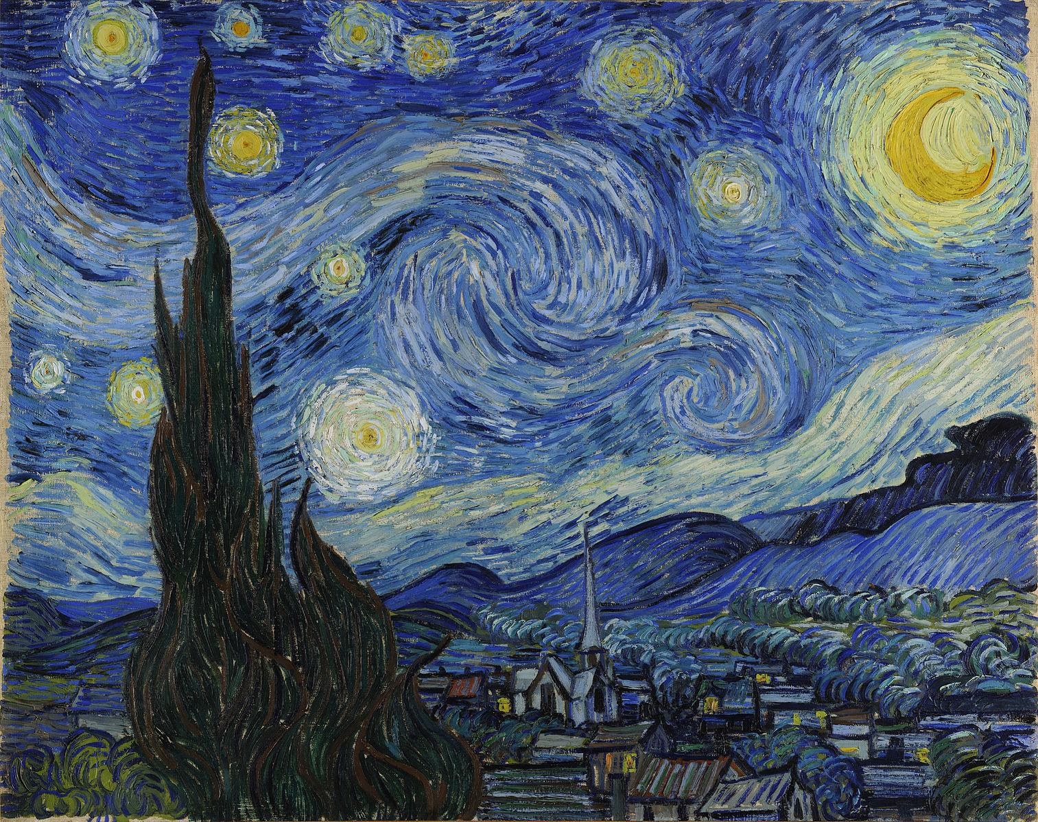 Зоряна ніч - Вінсент ван Гог
